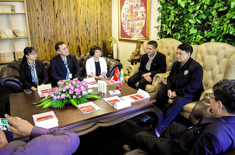Trung Nguyên nối kết giá trị văn hóa Việt Nam với Myanmar