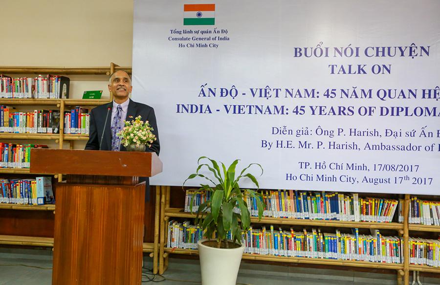 Phòng đọc doanh nhân Trung Nguyên Legend vinh dự đồng hành cùng Buổi nói chuyện của Ngài Đại sứ Ấn Độ Harish Parvathaneni