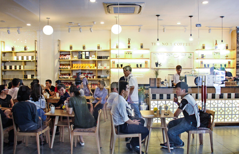 Trung Nguyên Legend Café – Phố đi bộ Nguyễn Huệ