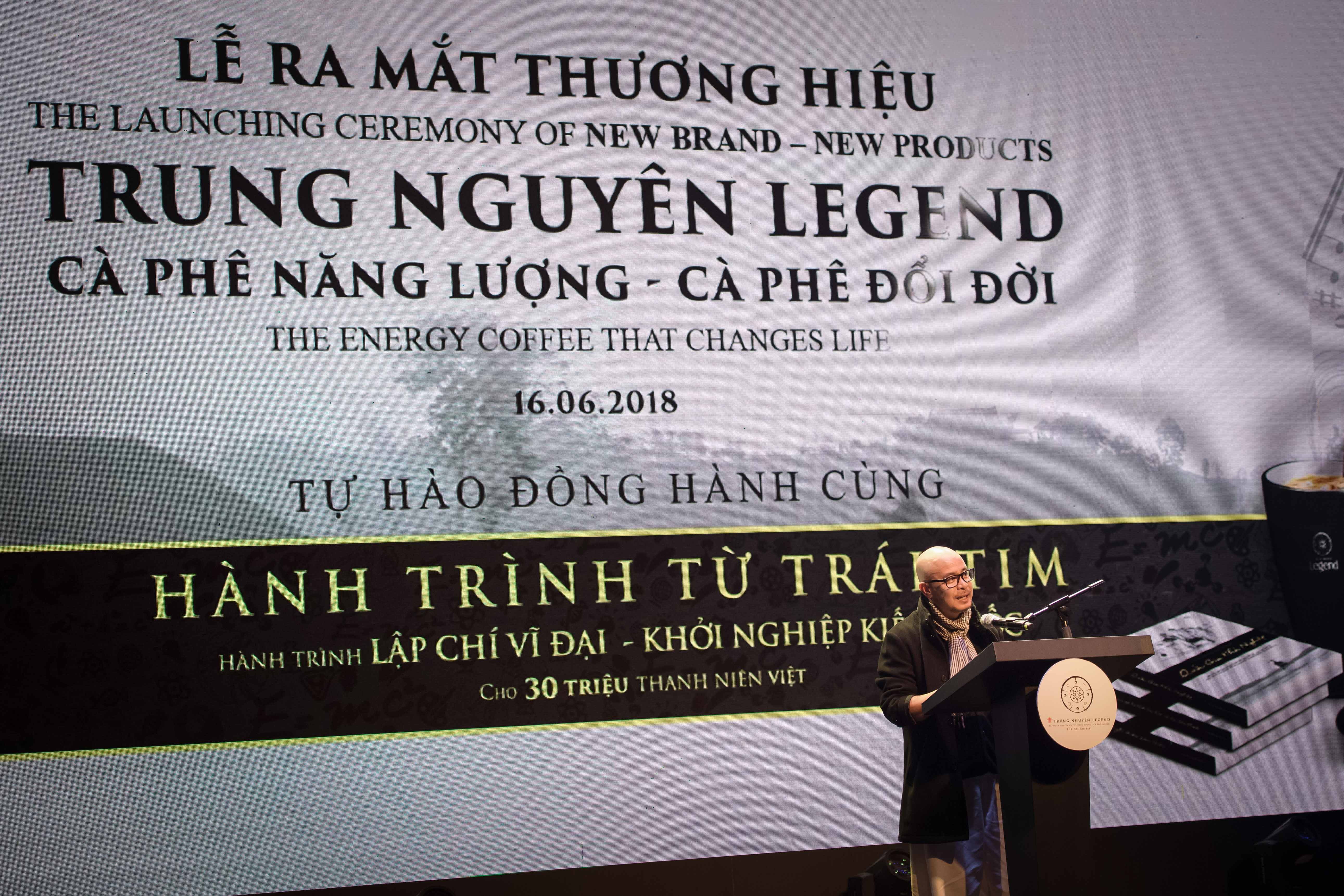 Những lời Dặn dò Gan ruột của CHỦ TỊCH ĐẶNG LÊ NGUYÊN VŨ với ACE Trung Nguyên Legend