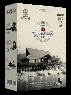 Legend Cà phê sữa đá 9 Stick