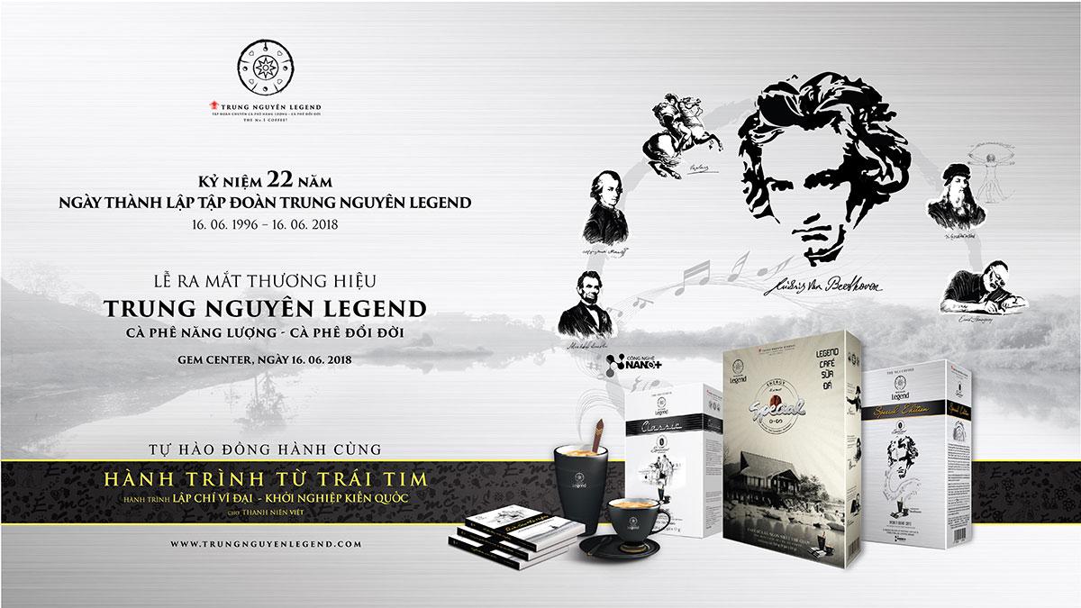 Hành trình 22 năm phát triển Trung Nguyên Legend