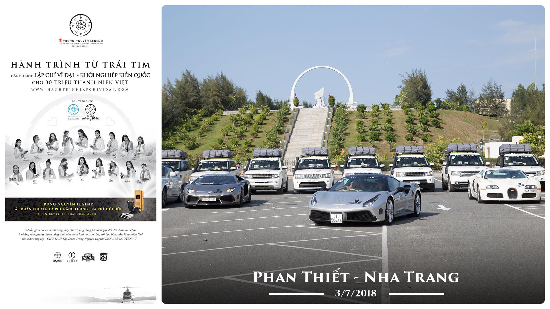 Nhật ký Hành Trình Từ Trái Tim: Chặng Phan Thiết – Nha Trang