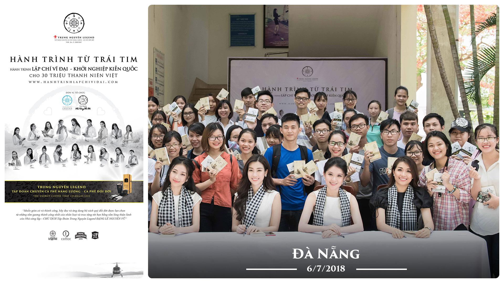 Nhật ký Hành Trình Từ Trái Tim ngày 06/07/2018 – Đà Nẵng