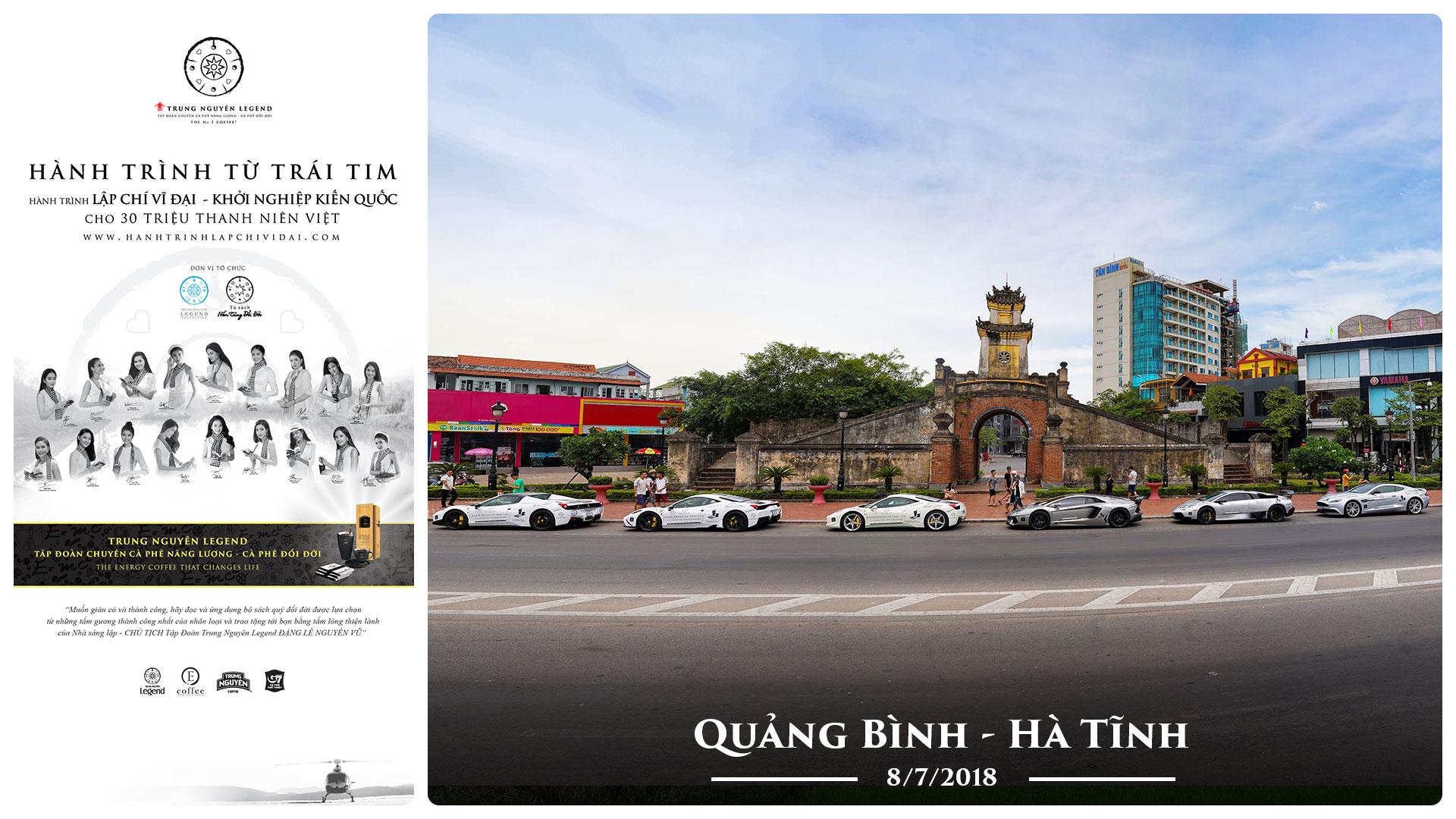 Nhật ký Hành Trình Từ Trái Tim – Ngày 8/7/2018 – Quảng Bình – Hà Tĩnh