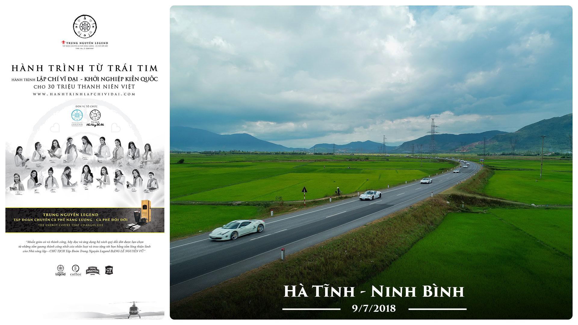 Nhật ký Hành Trình Từ Trái Tim – Ngày 9/7/2018 – Hà Tĩnh – Ninh Bình