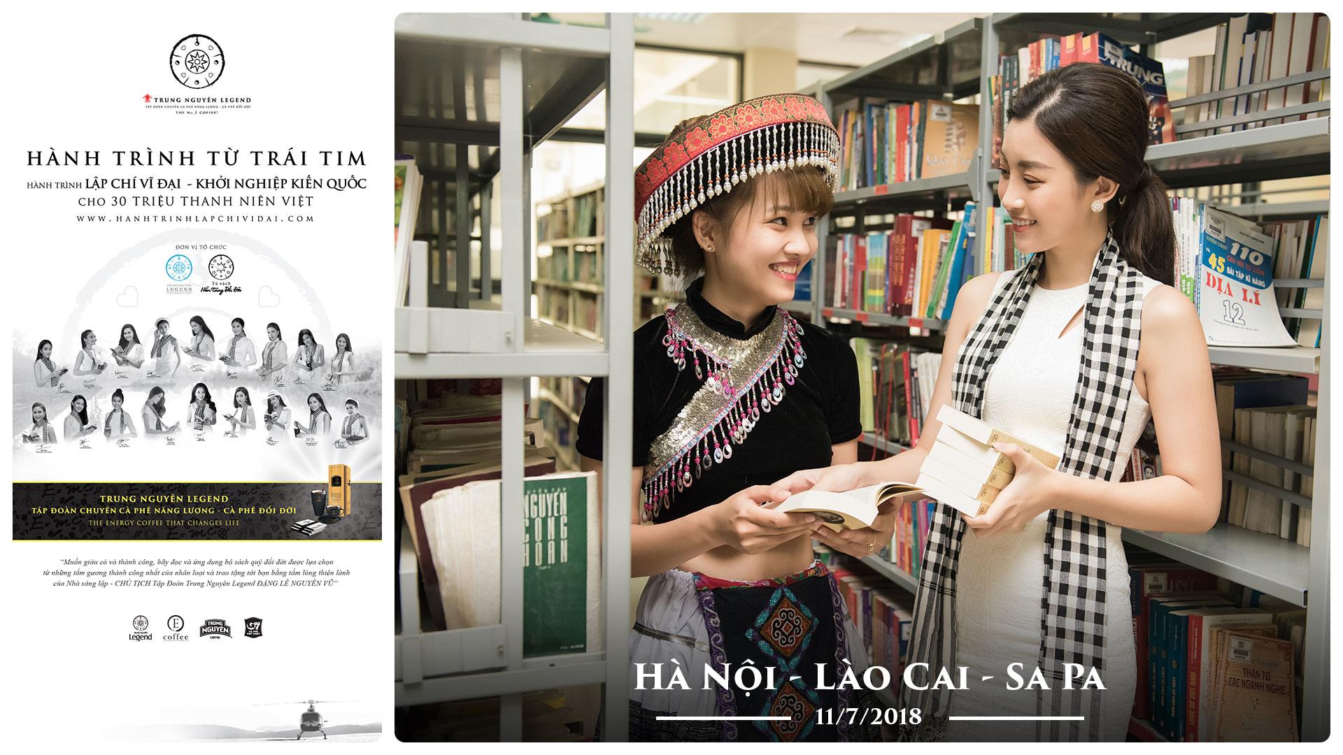 Nhật ký Hành Trình Từ Trái Tim – Ngày 11/7/2018 – Hà Nội – Lào Cai