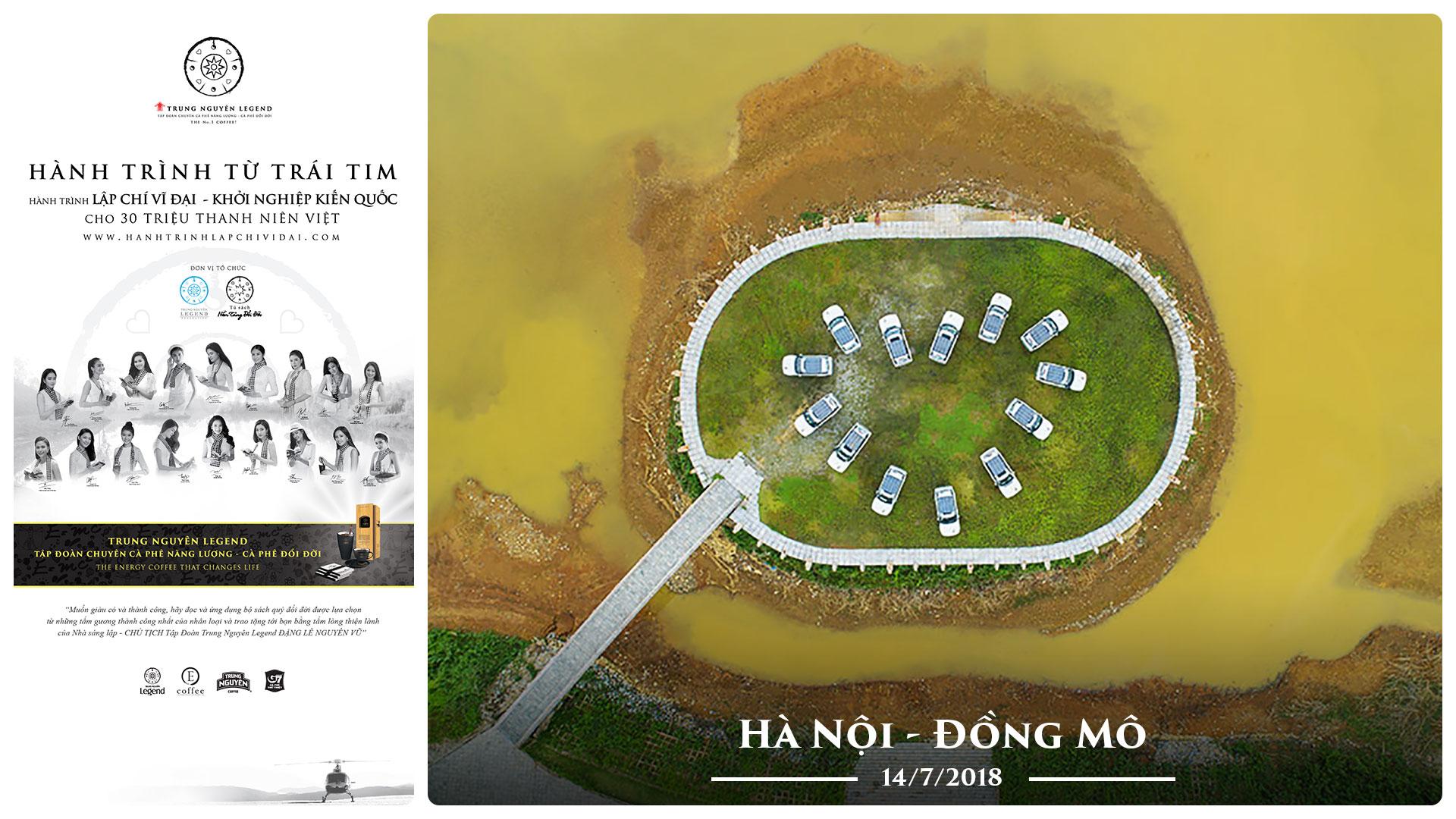Nhật ký Hành Trình Từ Trái Tim – Ngày 14/07/2018: Hà Nội – Đồng Mô