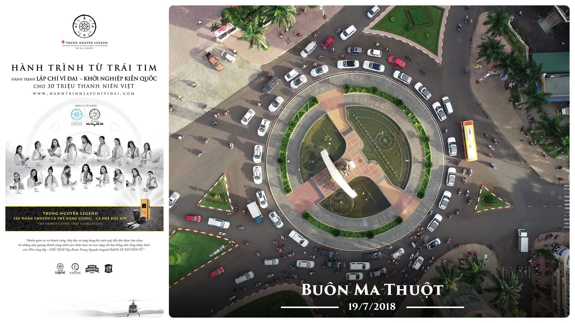 Nhật ký Hành Trình Từ Trái Tim – Ngày 19/07/2018: Buôn Ma Thuột