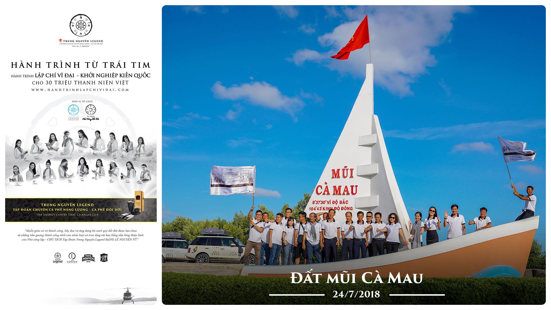 Nhật ký Hành trình Từ Trái Tim – Sách quý đổi đời đến với thanh niên Đất Mũi Cà Mau