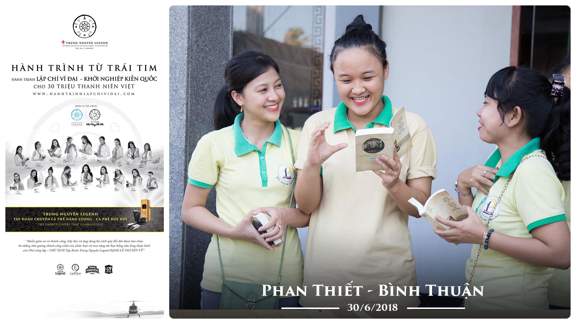 Nhật ký Hành trình từ Trái tim ngày 30/6 – Phan Thiết – Bình Thuận