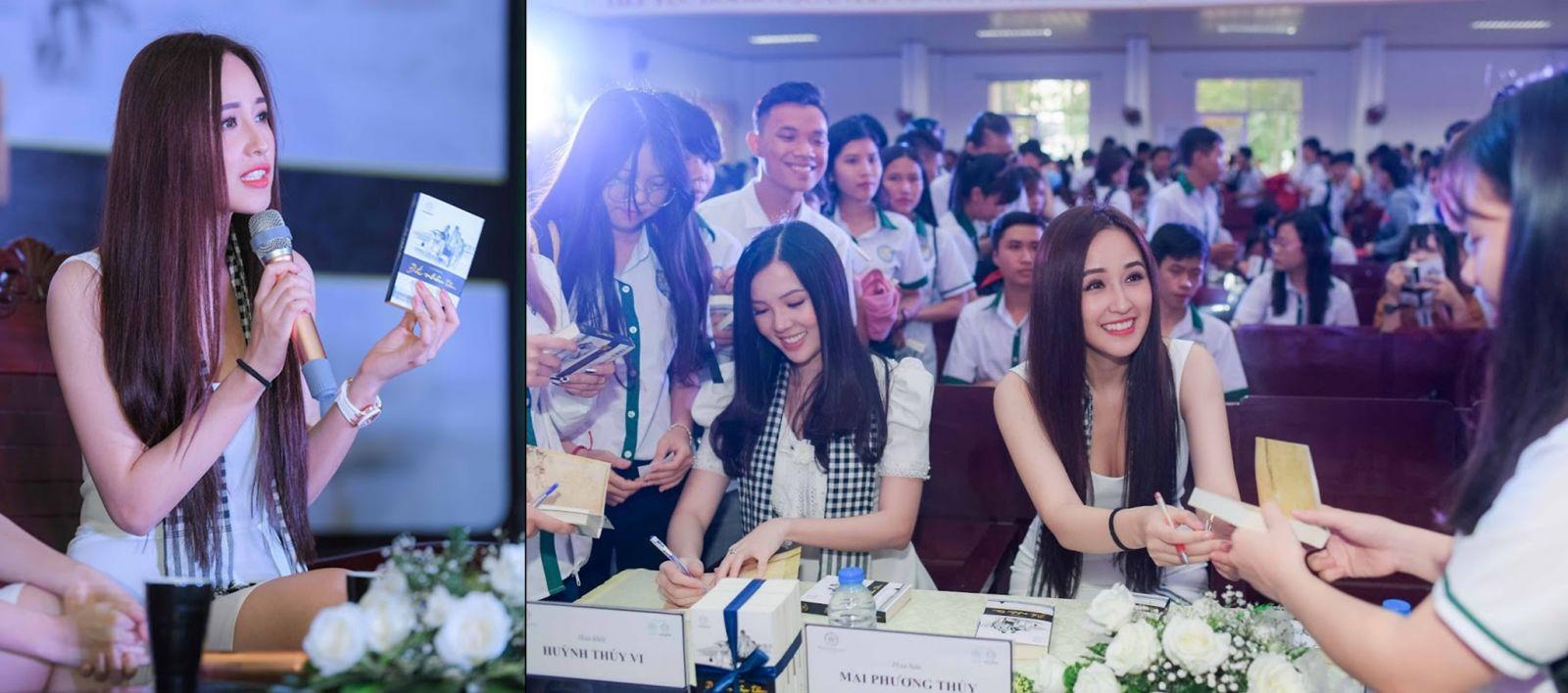 Hoa hậu Mai Phương Thúy chia sẻ một trong những bí quyết thành công của cô đến từ việc đọc sách. Cô đã đọc trọn vẹn 5 cuốn sách quý của Tủ sách Nền Tảng Đổi Đời