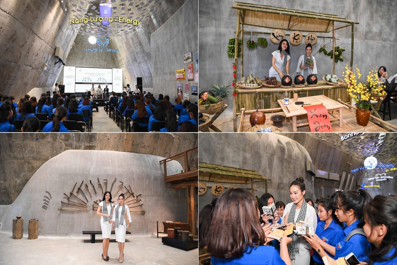 Hành trình Từ Trái Tim tại không gian Bảo tàng Thế giới Cà phê với sự tham gia của Hoa hậu Thùy Dung, Người đẹp Hồng Tuyết và ca sĩ Đức Tuệ đã thu hút hàng trăm sinh viên và thanh niên tham dự