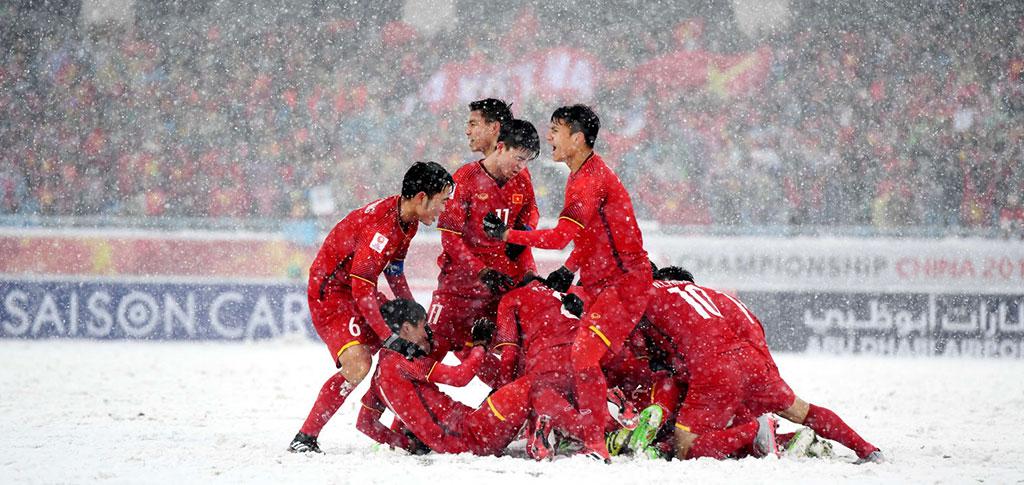 Thường Châu tuyết trắng và tinh thần chiến đấu quả cảm của đội tuyển Việt Nam tại giải U23 Châu Á