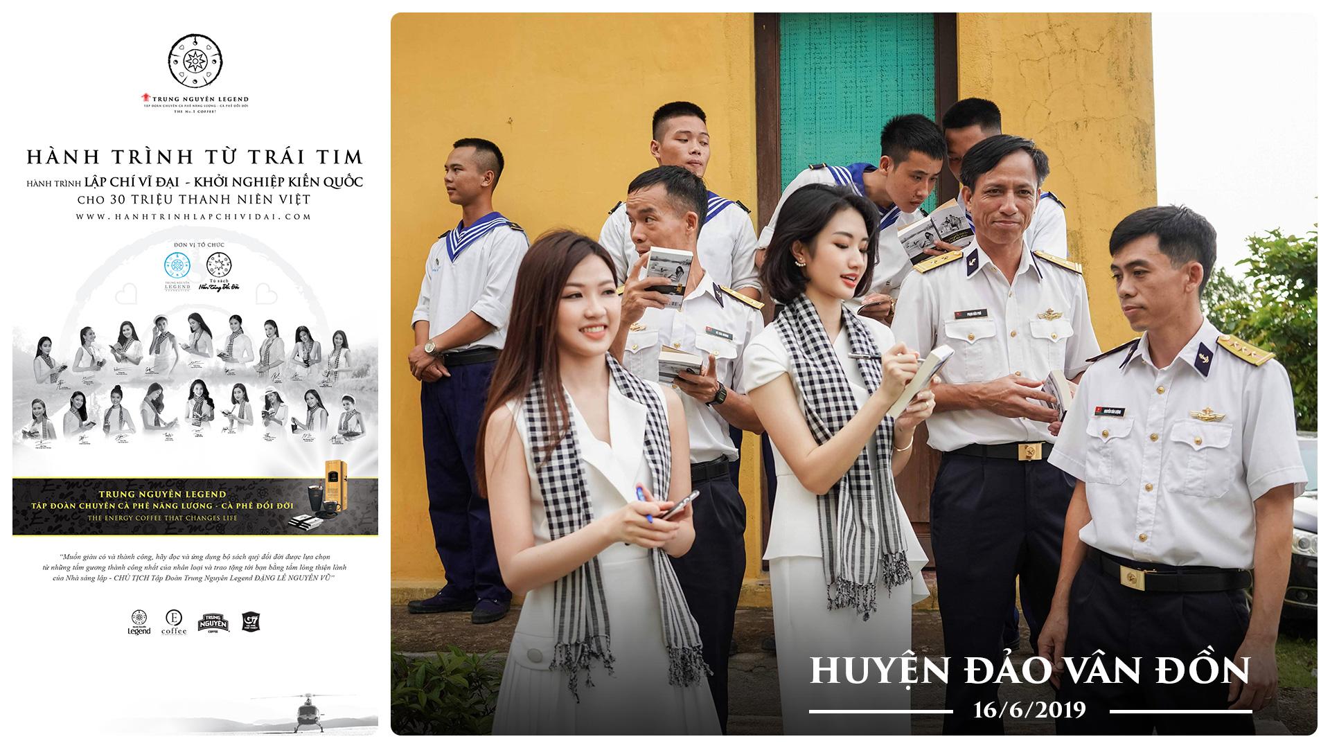 Hành trình Từ Trái Tim đến với chiến sĩ hải quân và bộ đội biên phòng tỉnh Quảng Ninh