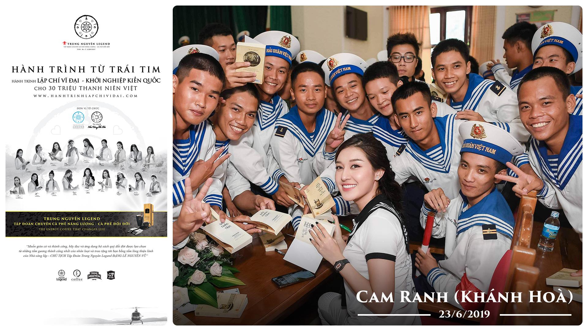 Hành trình từ Trái tim đến với quân cảng Cam Ranh – Khánh Hoà