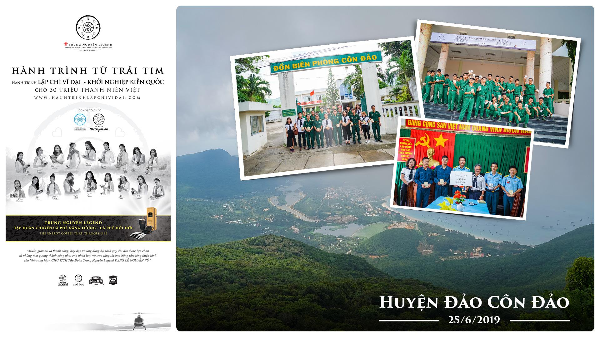 Hành trình Từ Trái Tim mang sách quý đến với Côn Đảo