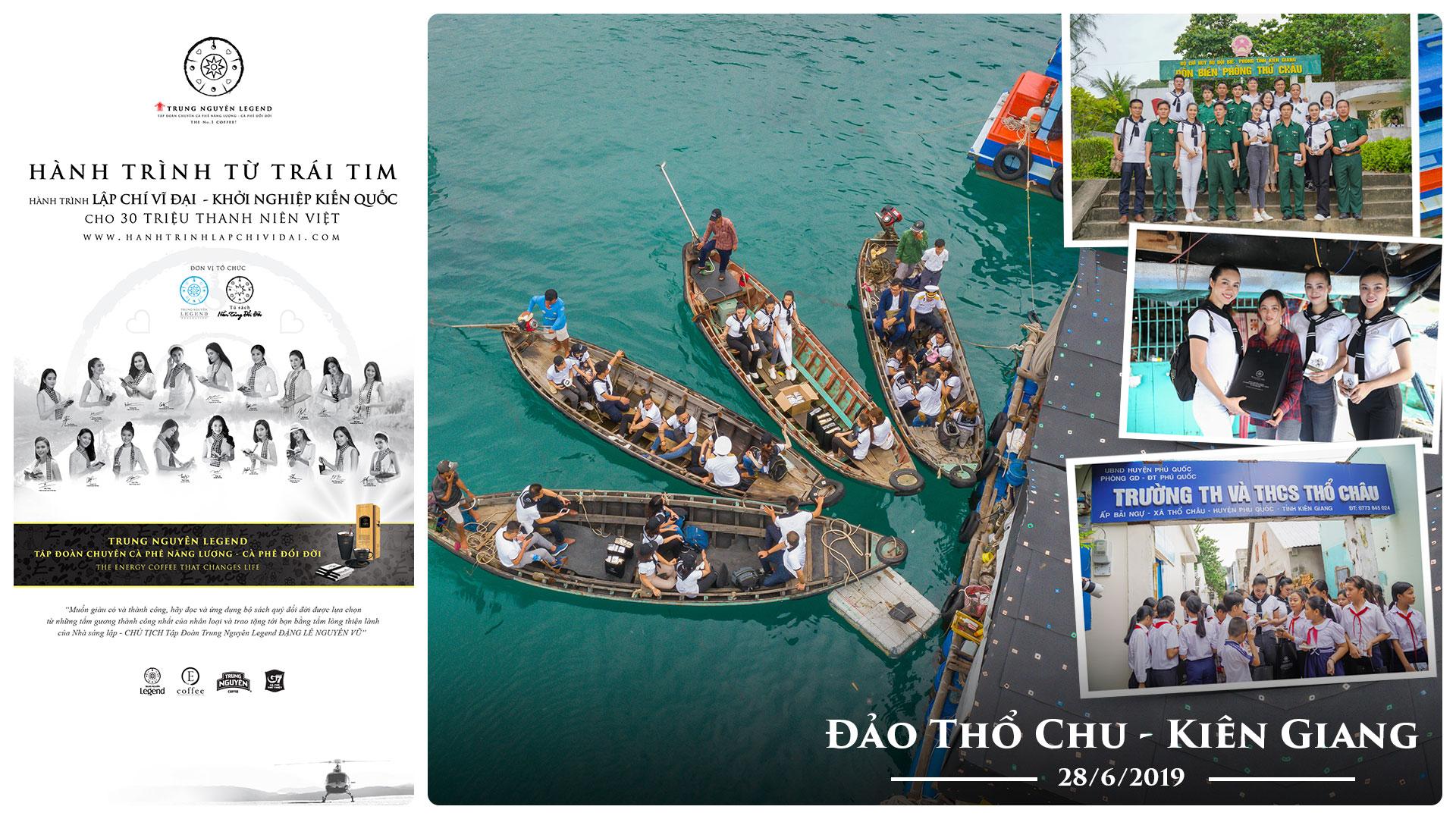 Hành trình Từ Trái Tim trao tặng sách quý đổi đời đến chiến sĩ và nhân dân Đảo Thổ Chu – Kiên Giang