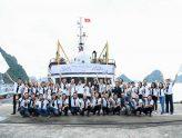 Hành trình Từ Trái Tim: Rẽ sóng vượt biển đem tri thức quý đến vùng biển đảo