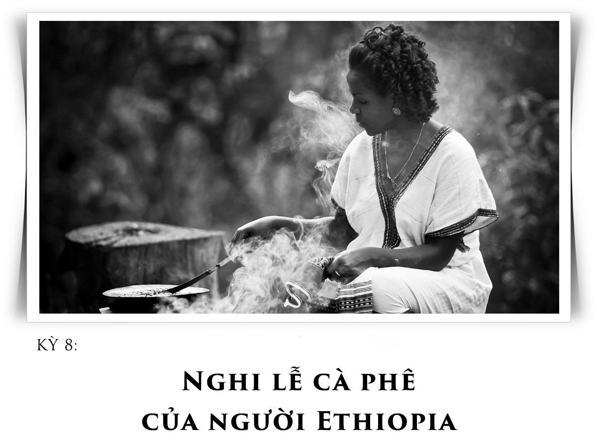 Nghi lễ cà phê của người Ethiopia