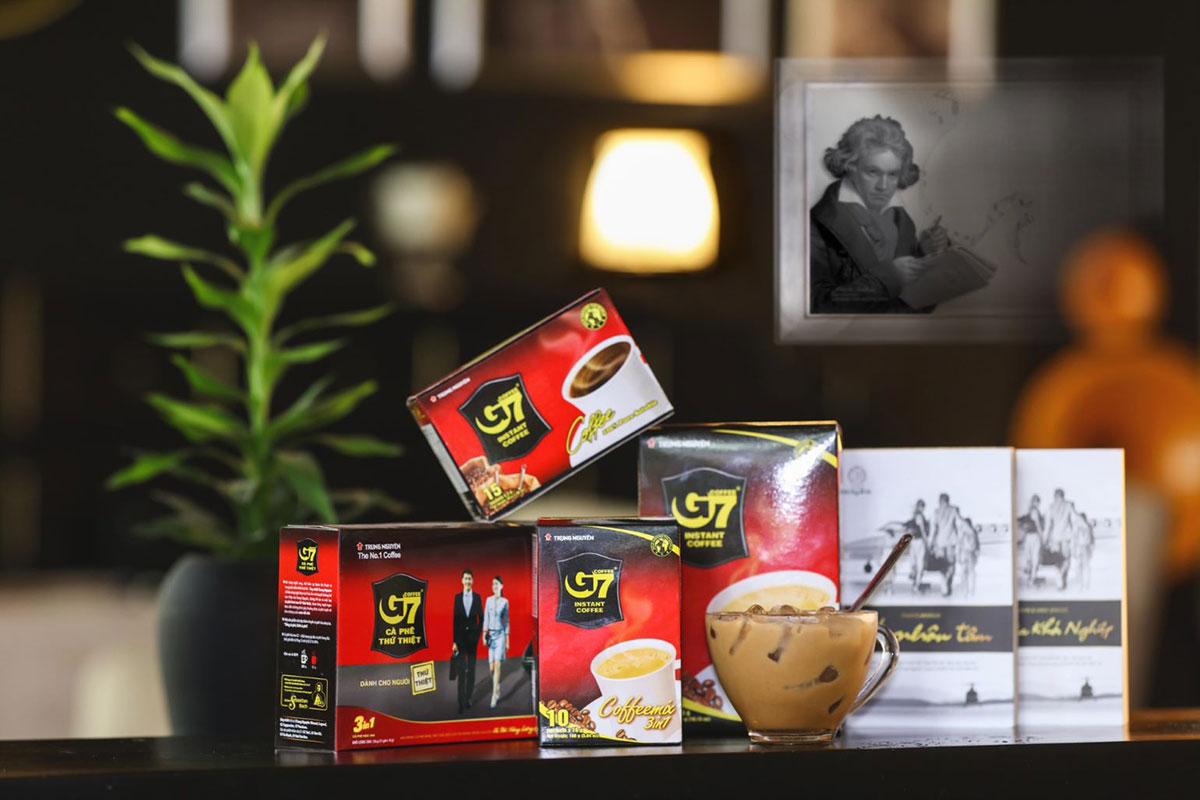Cà phê G7 tăng trưởng thần tốc trên toàn cầu - Trung Nguyên Legend