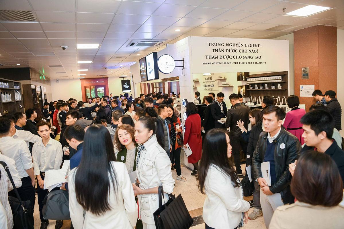 Trung Nguyên E-Coffee tăng tốc mở rộng khắp 63 tỉnh thành