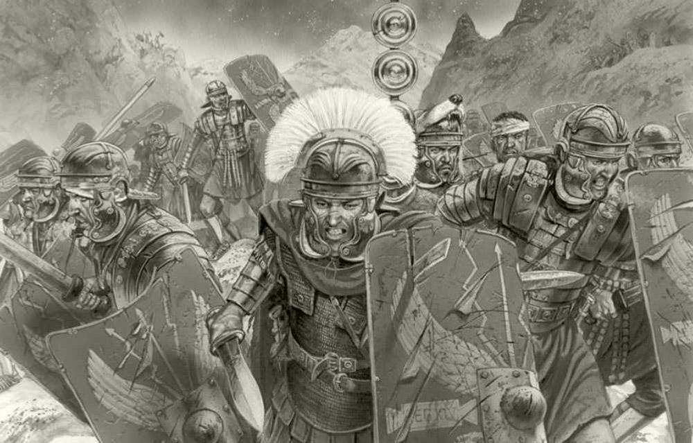 Đối với bản thân, Julius Caesar cũng vô cùng khắt khe. Ông tập luyện và sinh hoạt như một chiến binh, ông có khả năng sử dụng kiếm và cưỡi ngựa xuất sắc cùng sức chịu đựng đáng kinh ngạc. Trên trận chiến, ông không phải là vị tướng đi sau hàng quân mà luôn luôn là người đi đầu dẫn dắt. Khi nhìn thấy vị chủ tướng vung kiếm hô vang lời xung kích, đội quân La Mã đã vùng lên như vũ bão, bất chấp lực lượng đối địch, bất chấp địa hình, thời tiết… và họ đã trở thành đội quân làm nên sự vĩ đại của đế chế La Mã.