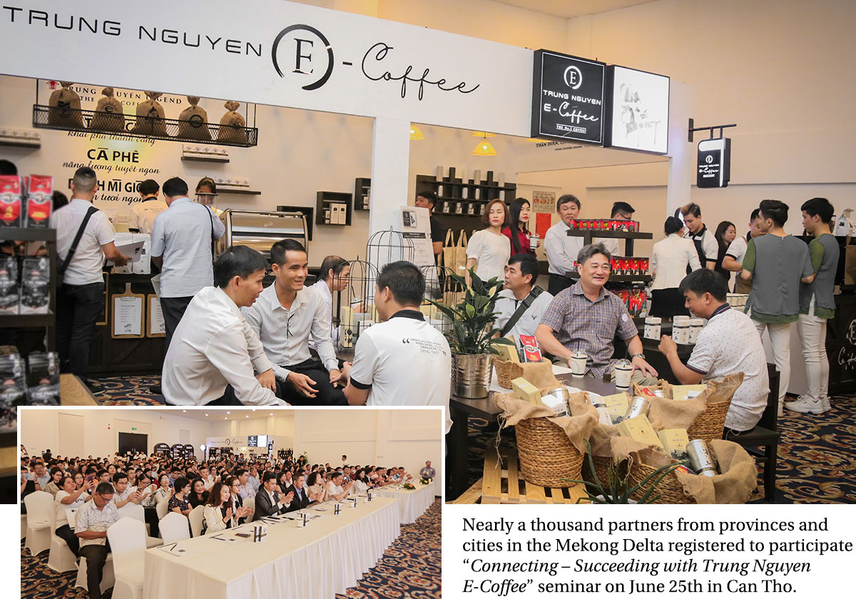 Trung Nguyen E-Coffee – The no. 1 cooperation choice of partners throughout Vietnam