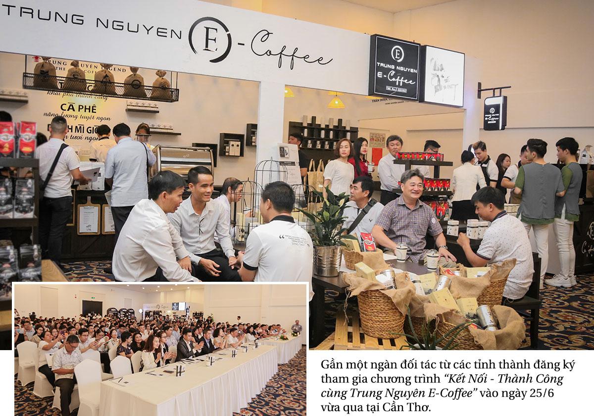 Trung Nguyên E-Coffee – Sự lựa chọn hợp tác số 1 của hàng ngàn đối tác trên toàn quốc