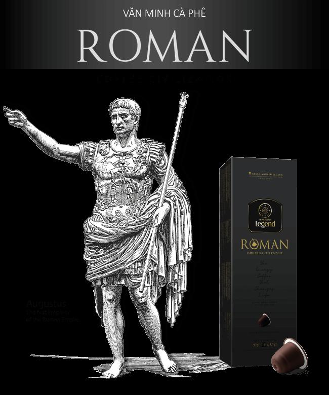 Trung Nguyên Legend Capsule – Cà phê viên nén rang xay Roman