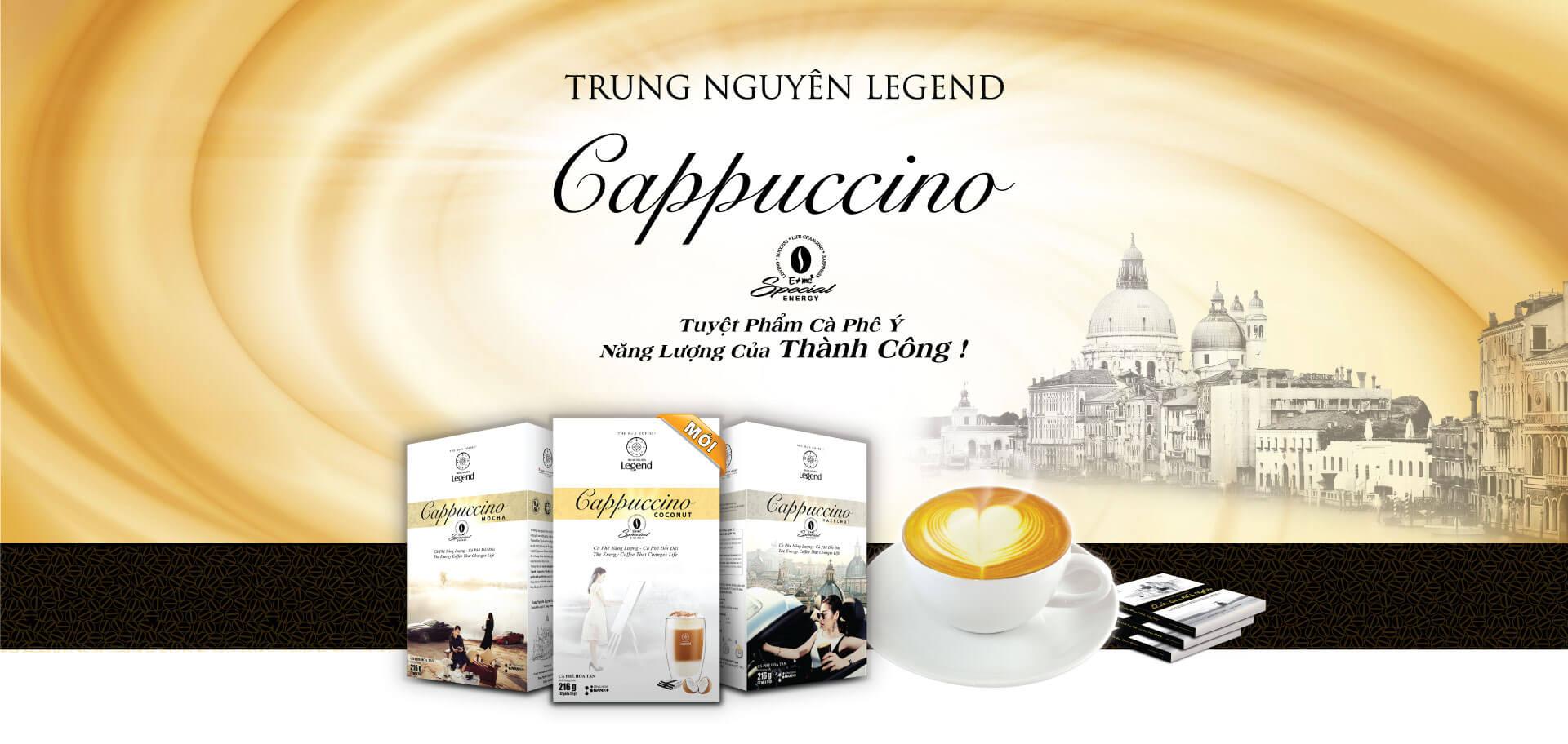 Trung Nguyên Legend Cappuccino