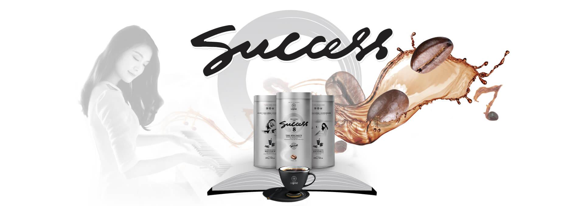 Cà phê hạt rang chuyên biệt Trung Nguyên Legend Success
