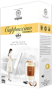Trung Nguyên Legend Cappuccino Coconut
