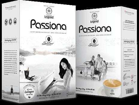 Cà phê hòa tan Trung Nguyên Legend Passiona